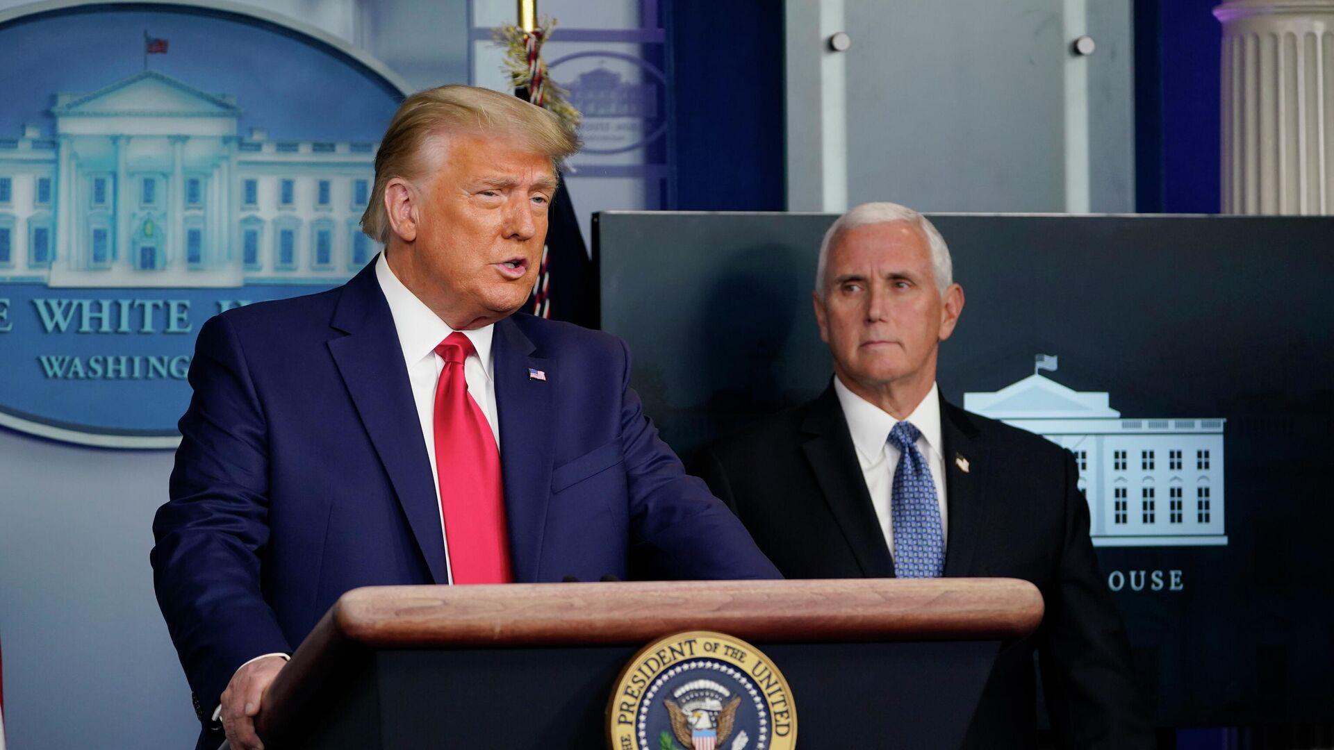 СМИ: Трамп и Пенс не разговаривали после штурма Капитолия