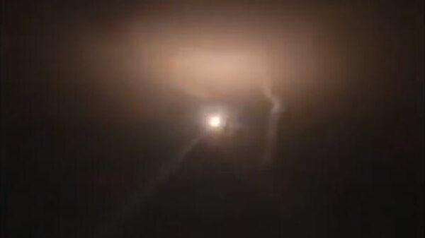 Отражение ракетного удара Израиля по Дамаску