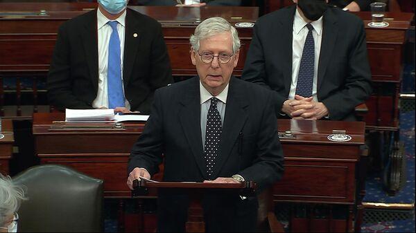 Лидер республиканцев в Сенате США Митч МакКоннелл