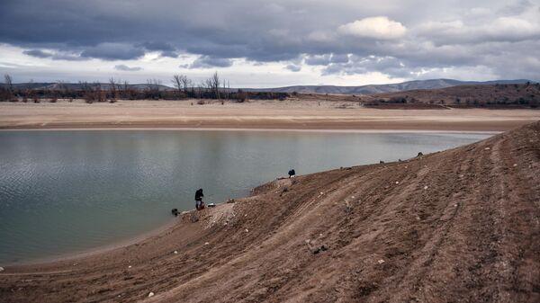 Аянское водохранилище естественного стока в Симферопольском районе Крыма на реке Аян
