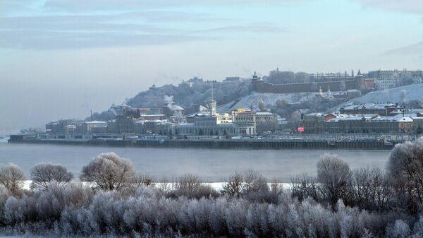 Вид на историческую часть Нижнего Новгорода