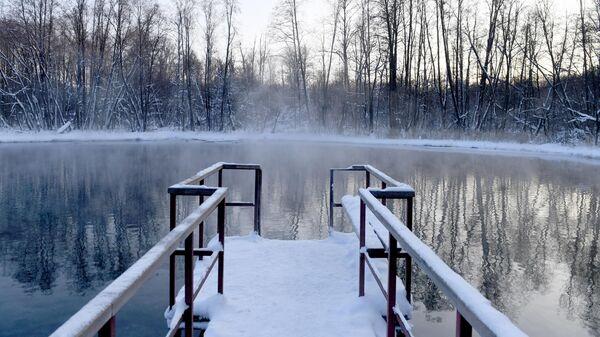 Природный заповедник Голубые озёра в Татарстане