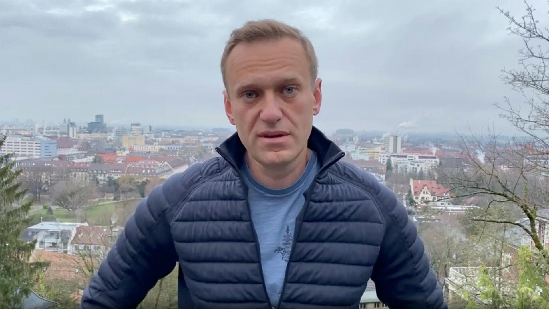 Алексей Навальный в Германии - РИА Новости, 1920, 28.01.2021