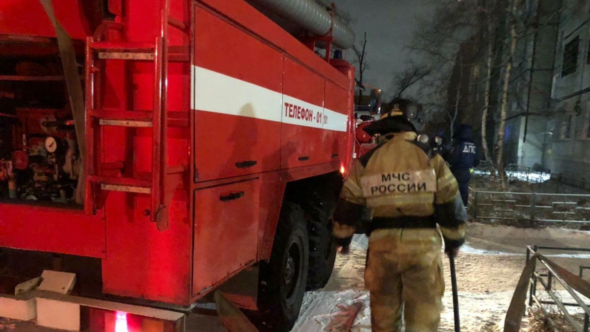 Названа возможная причина пожара в Хабаровске, где погибли пять человек