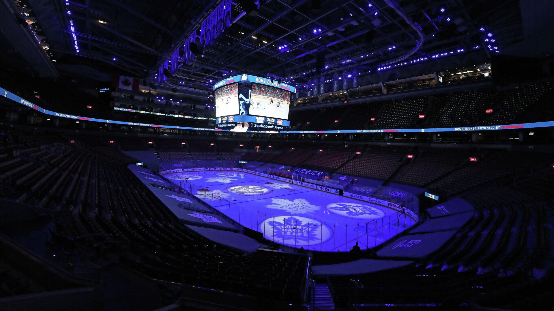 Начало матча НХЛ Монреаля - Торонто - РИА Новости, 1920, 14.01.2021