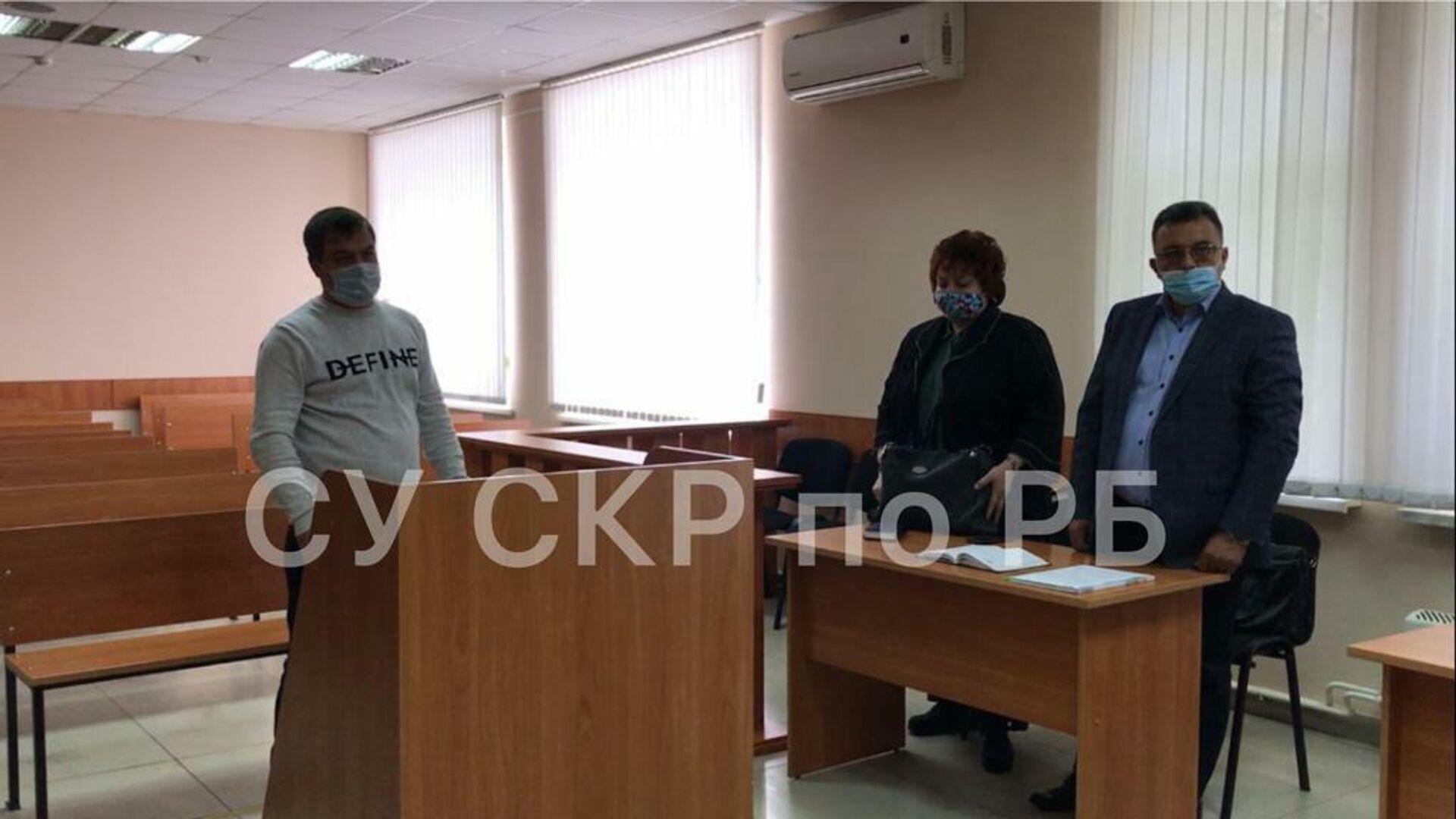 Владимир Санкин в зале суда - РИА Новости, 1920, 16.01.2021