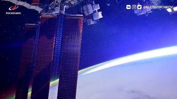 Кадры с орбиты: северное сияние, рассвет, Млечный путь и миллионы звезд
