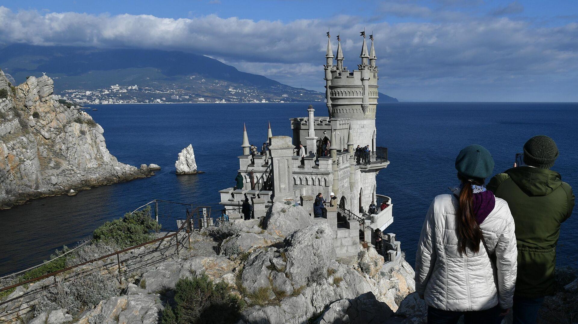 Дворец-замок Ласточкино гнездо в Крыму - РИА Новости, 1920, 26.03.2021