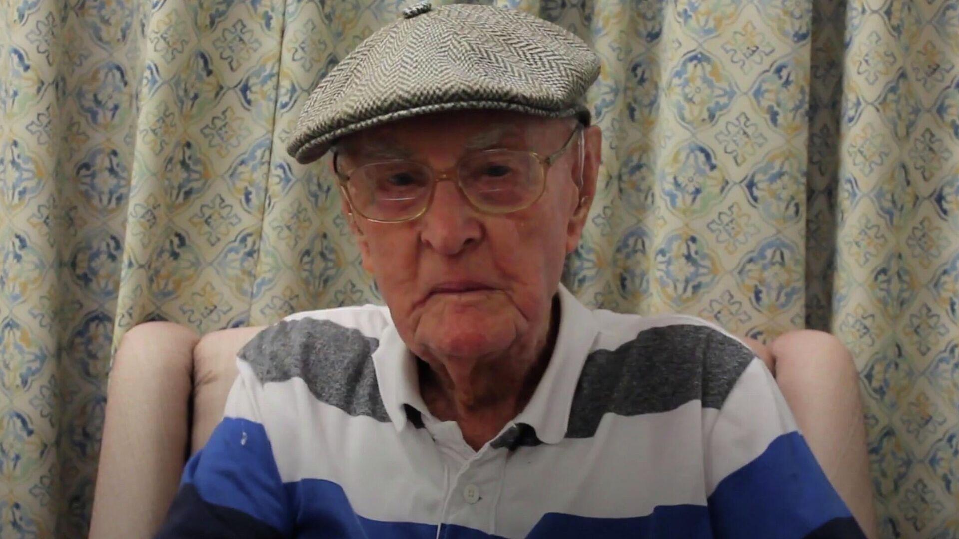 111-летний житель Австралии Декстер Крюгер - РИА Новости, 1920, 15.01.2021