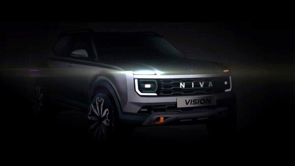 Новое поколение российского внедорожника Lada Niva
