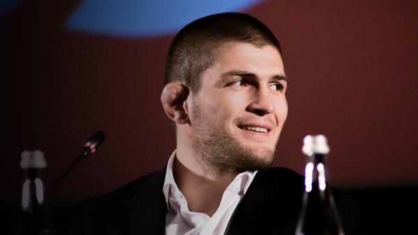 Чемпион UFC в лёгком весе Хабиб Нурмагомедов