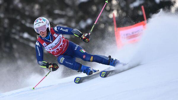 Итальянская горнолыжница Марта Бассино