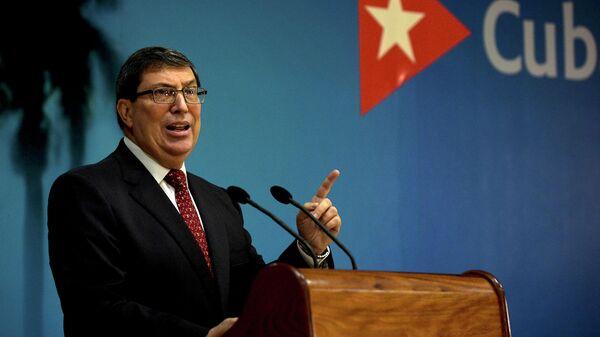 Министр иностранных дел Кубы Бруно Родригес Парилья