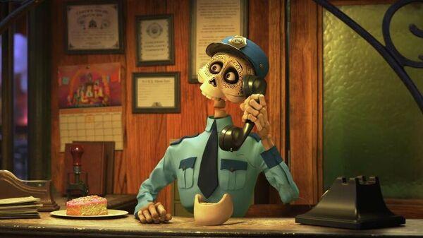 Скриншот трейлера нового сборника мультфильмов Pixar Popcorn