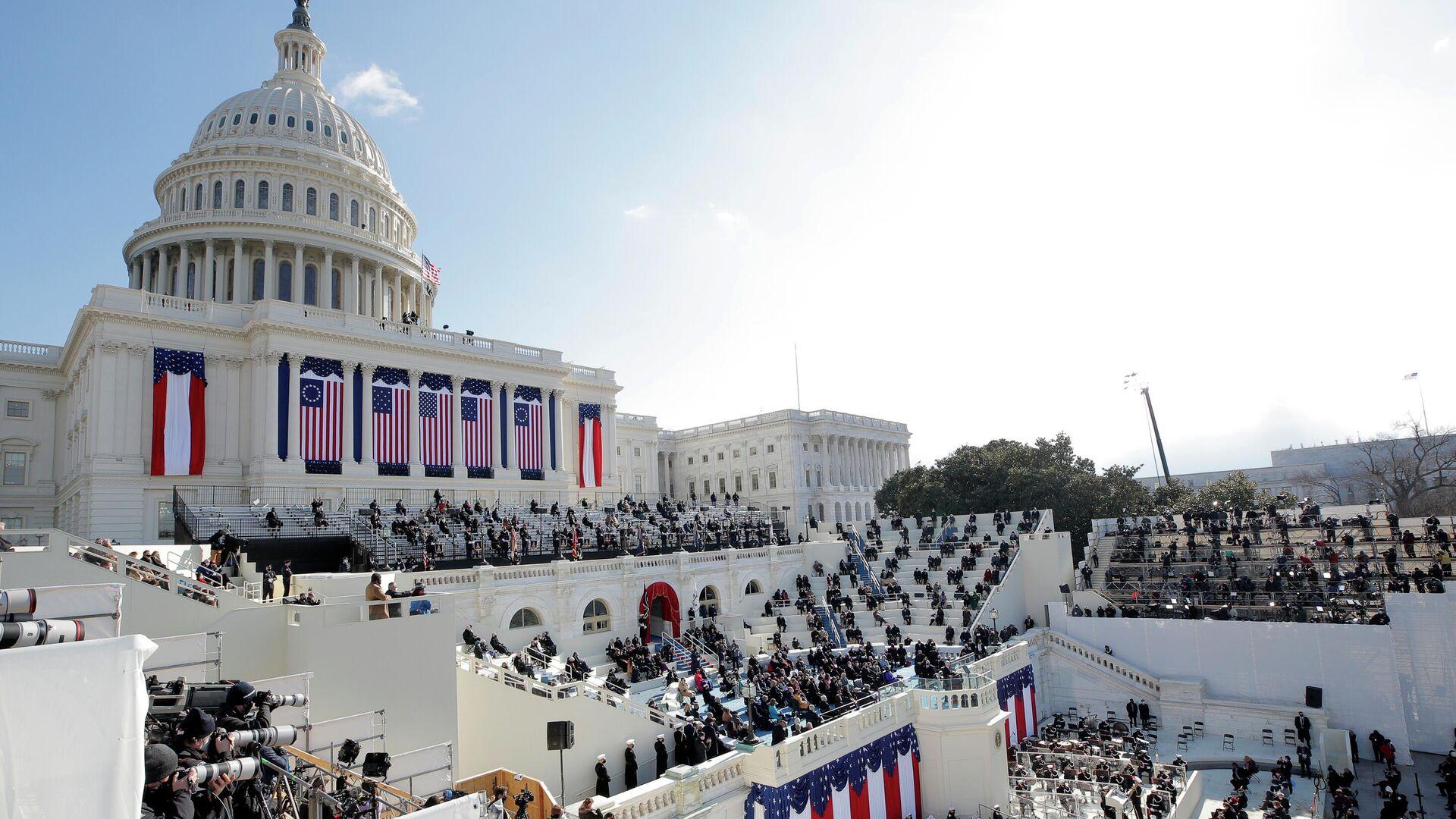Церемония инаугурации Джо Байдена в Вашингтоне - РИА Новости, 1920, 20.01.2021