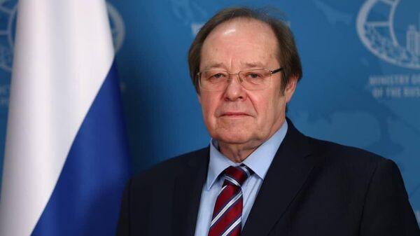 Посол России в Замбии Александр Болдырев