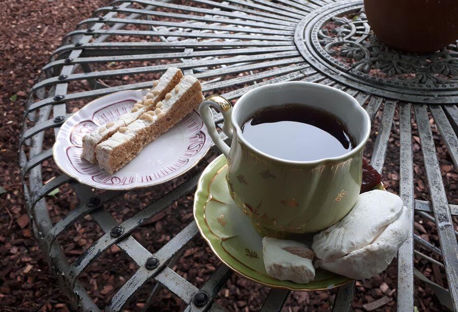 Чаепитие в музее Коломенская пастила
