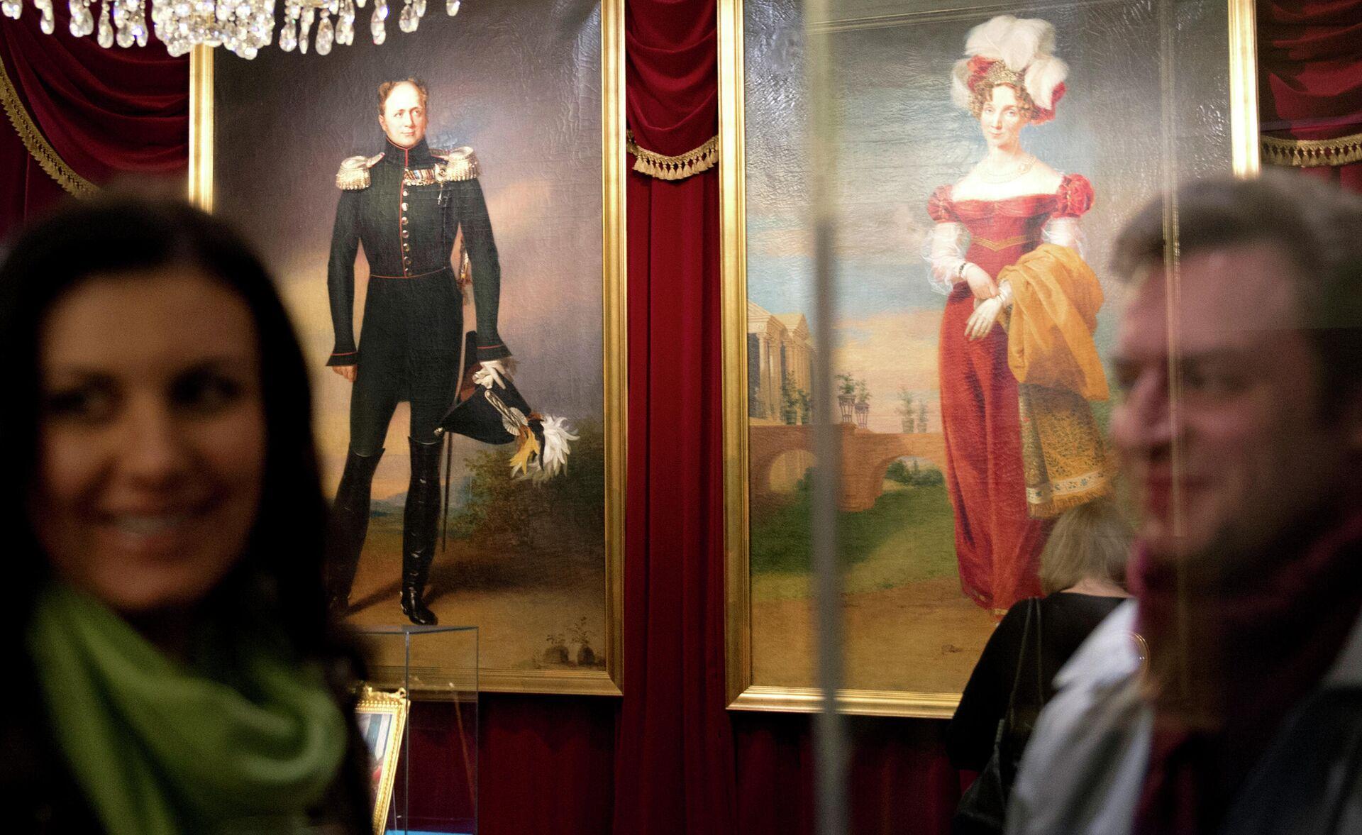 Открытие выставки Монархическая галерея - РИА Новости, 1920, 02.05.2021