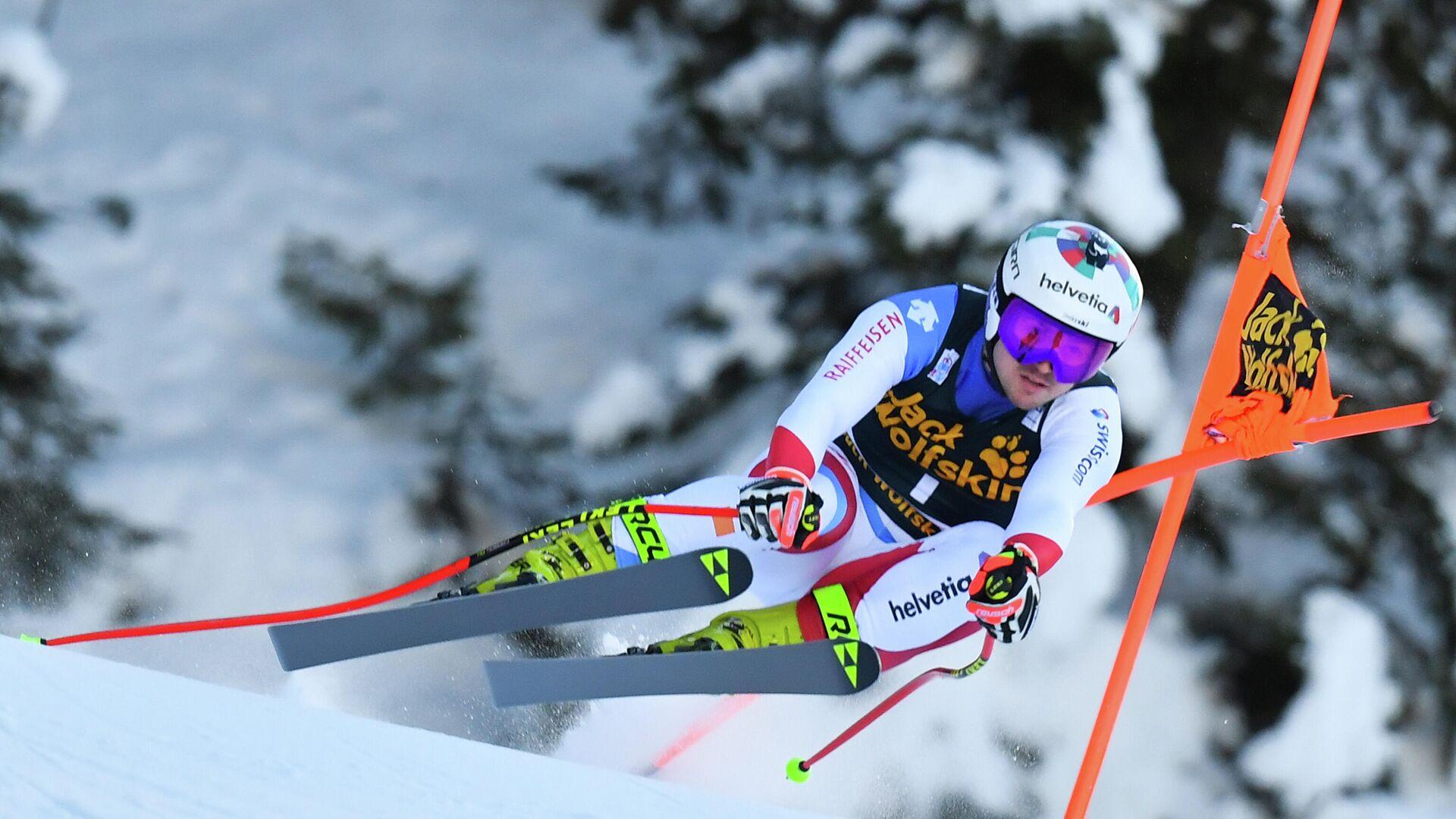 Швейцарский горнолыжник Урс Криенбюль - РИА Новости, 1920, 22.01.2021