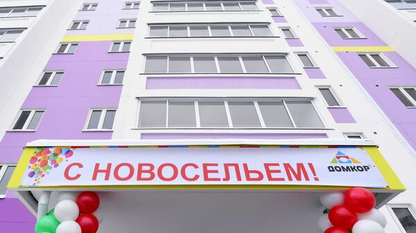 Новый дом, построенный по программе социальной ипотеки в Набережных Челнах