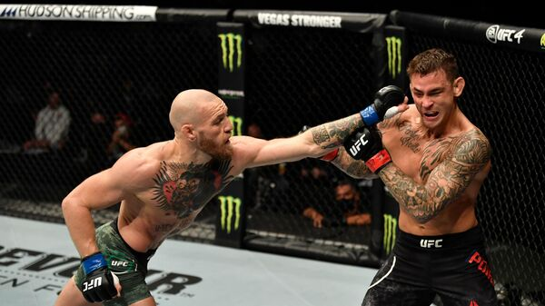 Бой Конора Макгрегора и Дастина Порье в рамках турнира UFC 257