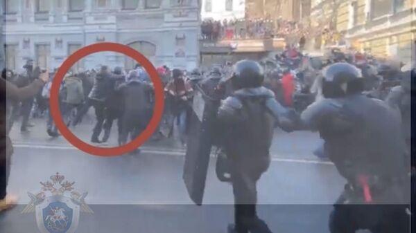 Нападение на сотрудника Росгвардии во Владивостоке