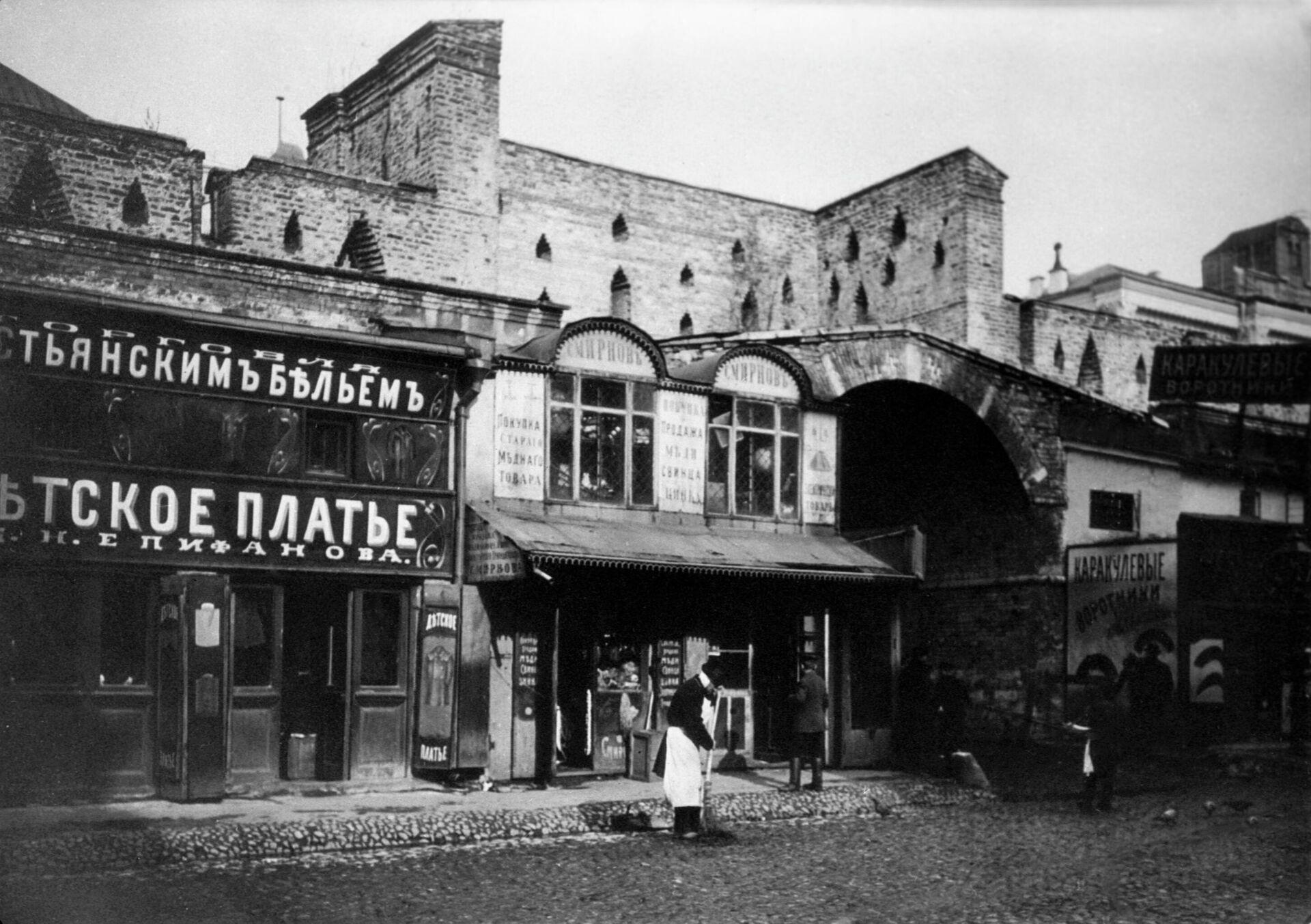 Дворник в старой Москве - РИА Новости, 1920, 25.01.2021