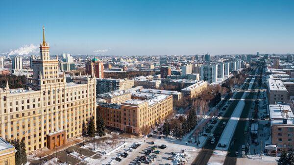 Вид на Челябинск