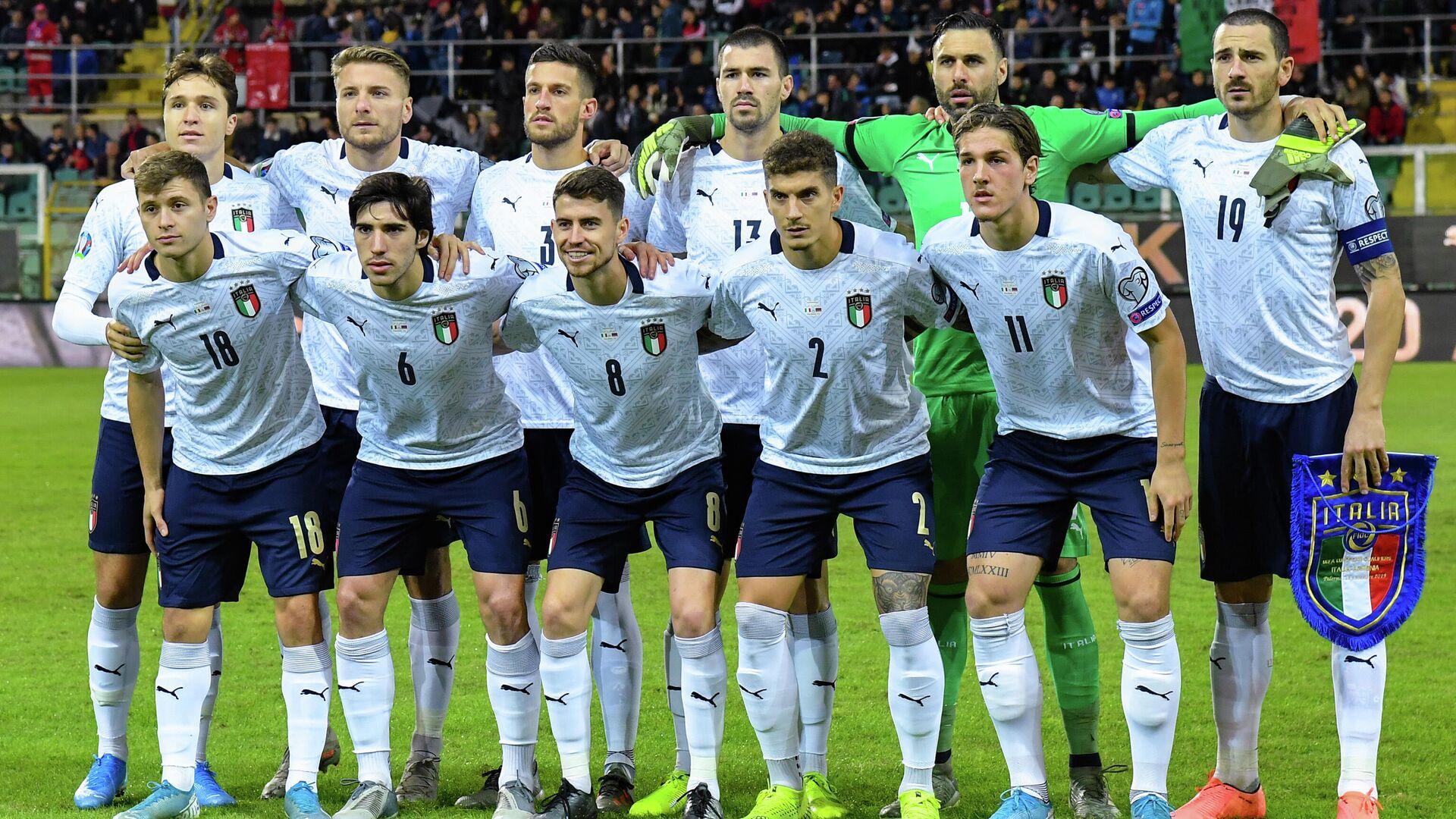 Футболисты сборной Италии - РИА Новости, 1920, 27.01.2021