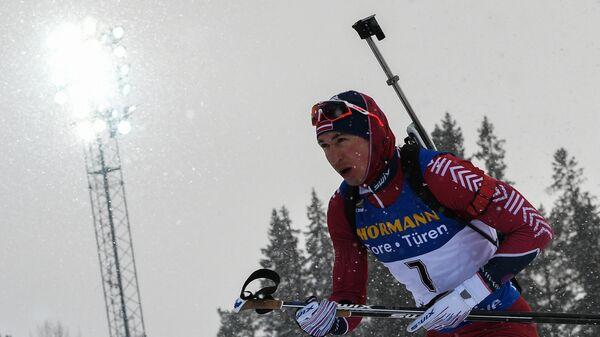 Биатлонист Андрей Расторгуев (Латвия)