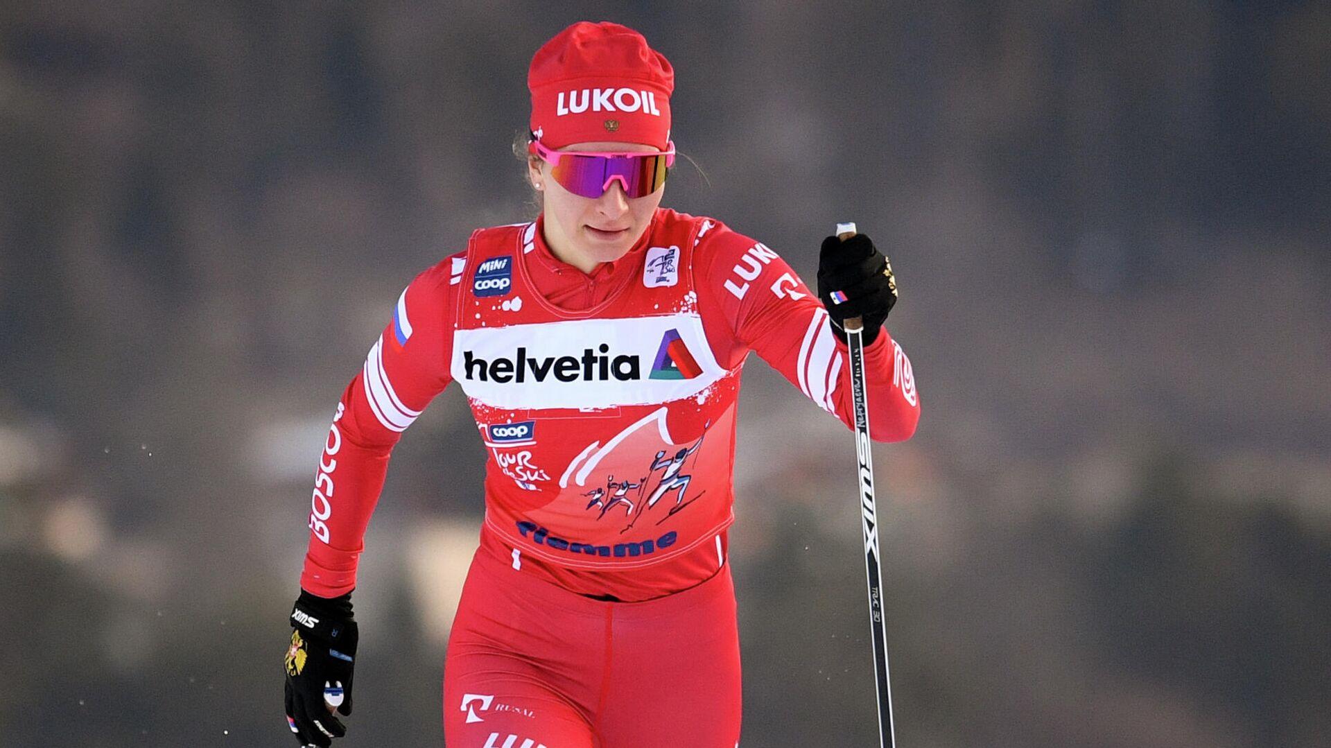 Лыжные гонки. Тур де Ски. Женщины. Спринт - РИА Новости, 1920, 30.01.2021