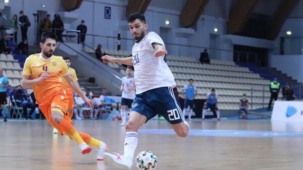 Россия — Армения в матче отборочного турнира чемпионата Европы-2022