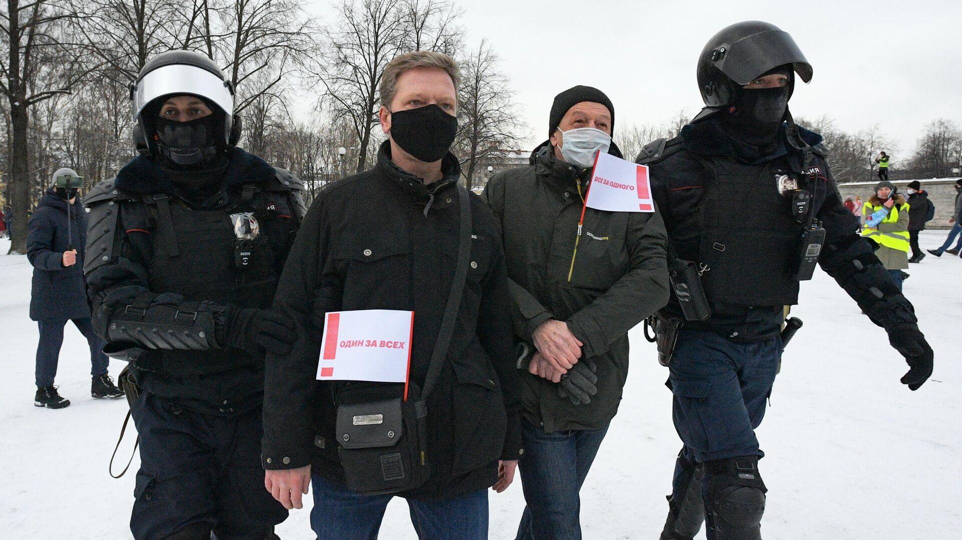 В Самаре задержали более 120 участников незаконной акции