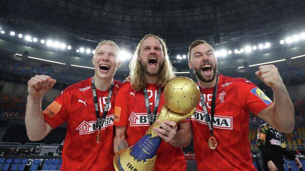 гандболисты сборной Дании