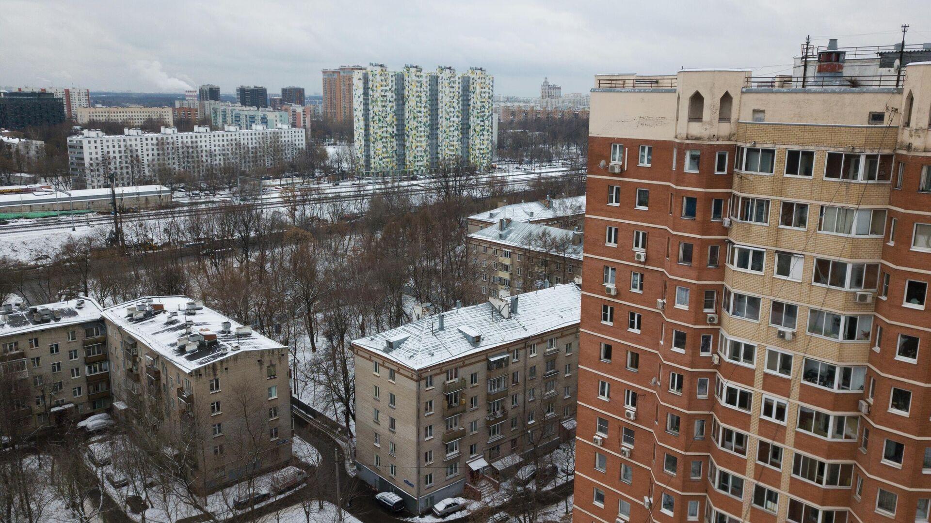 Жилые дома в Москве - РИА Новости, 1920, 30.11.2020