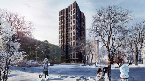 Проект дома реновации в московском районе Перово