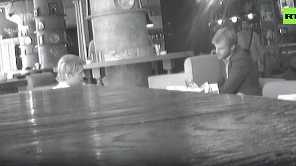 Видео разговора исполнительного директора ФБК* Владимира Ашуркова с сотрудником британского посольства