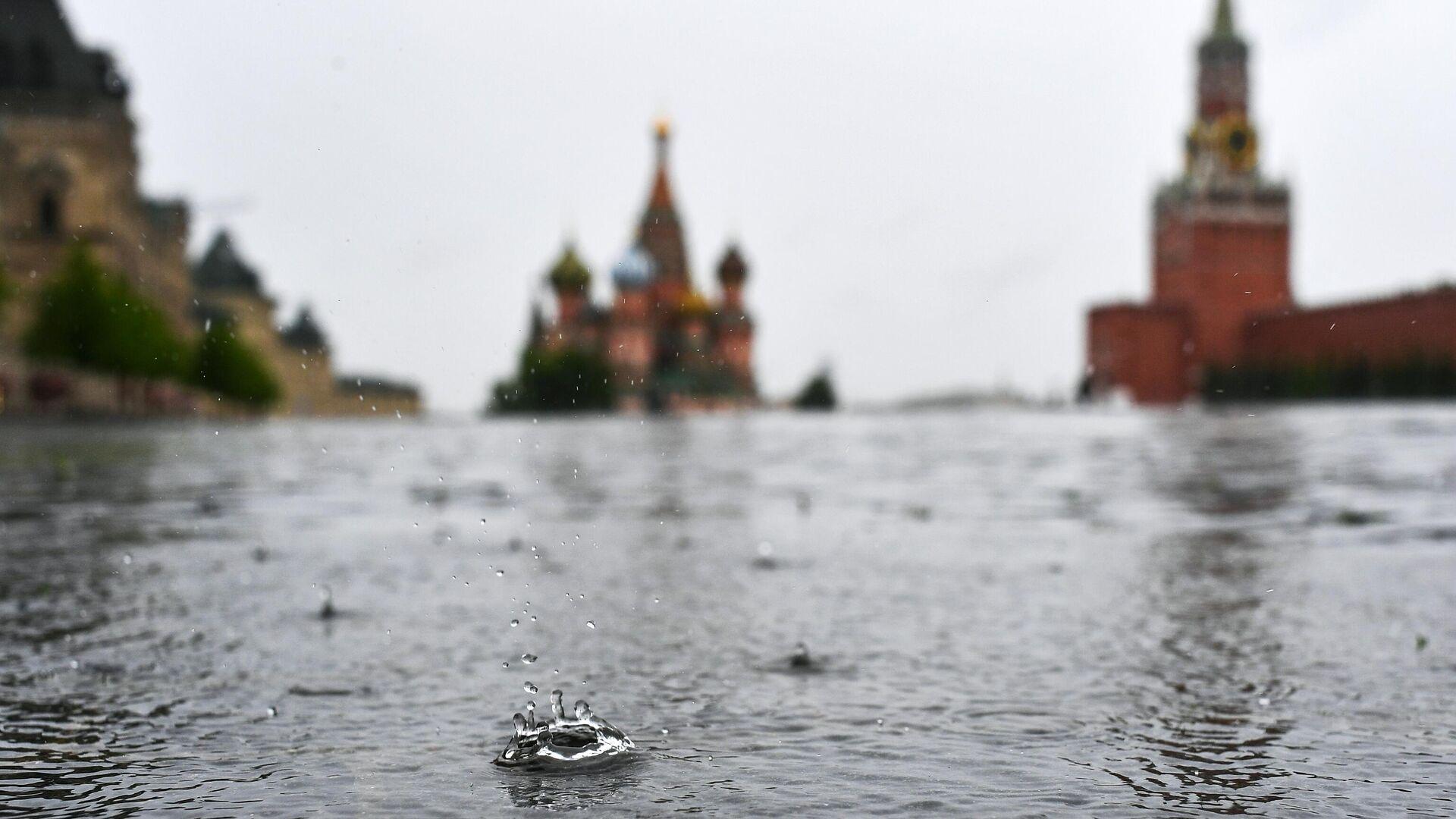 Дождь в Москве - РИА Новости, 1920, 08.05.2021