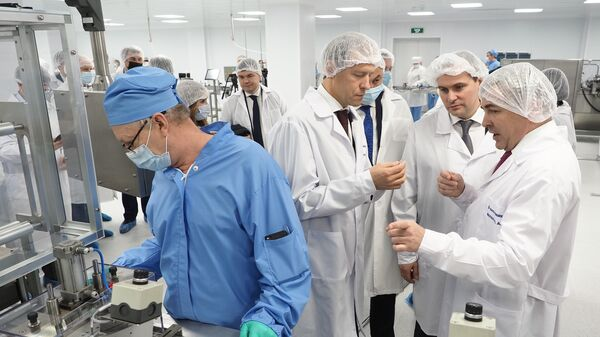 Открытие новой  производственной линии на заводе Биохимик в Саранске