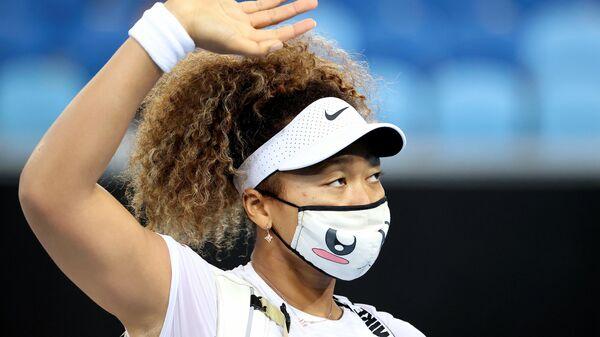 Теннисистка Наоми Осака (Япония)