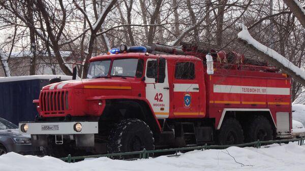 После пожара в жилом доме в Новой Москве госпитализировали 12 человек