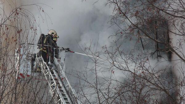 При пожаре в Свердловской области погиб ребенок