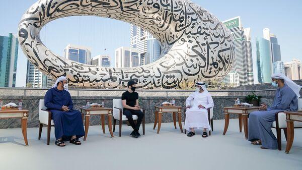Павел Дуров встретился с наследным принцем Дубая