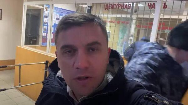 Саратовский депутат облдумы от КПРФ Николай Бондаренко в полиции