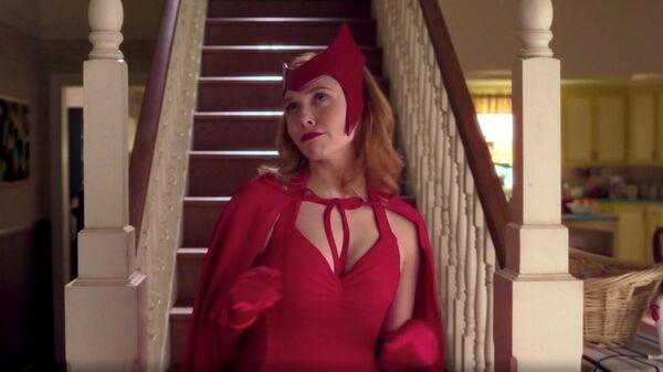 Кадр из сериала Ванда/Вижн