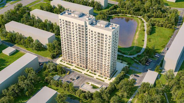 Проект дома реновации на Севастопольском проспекте в районе Зюзино