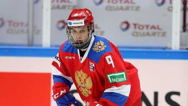Хоккеист сборной России Никита Чибриков