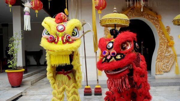 Празднование Китайского Нового года на Бали