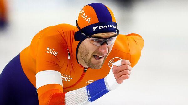 Конькобежец Томас Крол (Нидерланды)