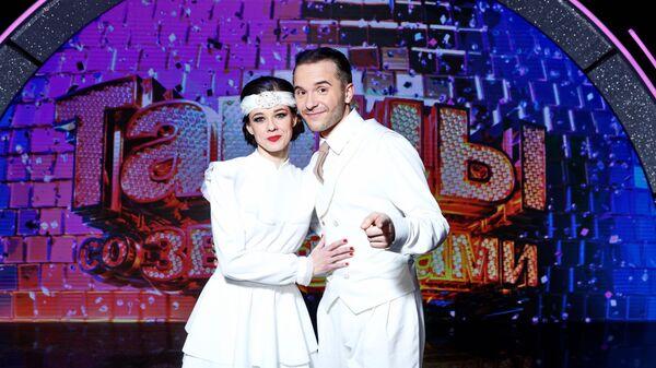 Катерина Шпица и Михаил Щепкин на проекте Танцы со звездами